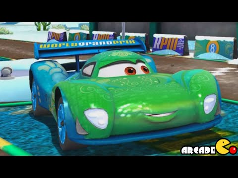 Disney Cars Fast as Lightning McQueen Racing Through the Snow - Disney Pixar Cars