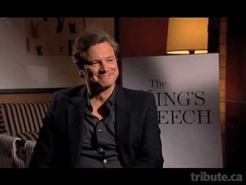 Colin Firth -- The King's Speech Interview