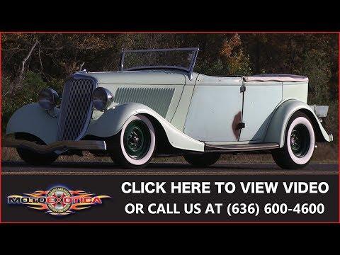 1936 Ford Phaeton Street Rod    SOLD