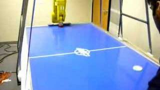 Nuvation Air Hockey Robot - early testing