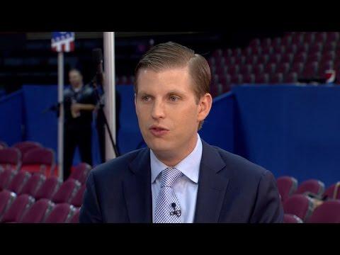 Eric Trump: Ted Cruz's convention speech was 'classless'