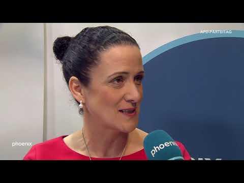 AfD-Parteitag: Nicole Höchst (Bundestagsabgeordnete) im Interview