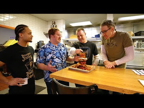 "Danettes v. Food - PART 3: The 10,000-Calorie ""Meat Your Maker"" Challenge 