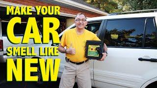Eliminating Car Odors with Ozone Shock Treatments