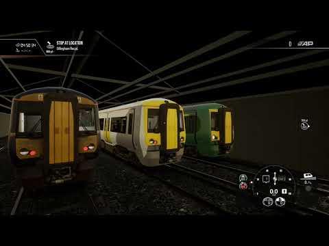 trains sim world 2 last night train  
