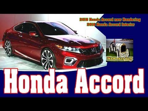 2018 Honda Accord New Rendering Interior Cars
