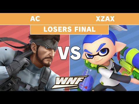 WNF 2.3 - AC (Snake) Vs. SCARZ | Xzax (Inkling) Losers Finals - Smash Ultimate