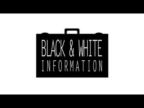 Black&White information - After Effects project