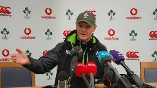 Joe Schmidt: Henshaw, Ringrose & upcoming Wales' match