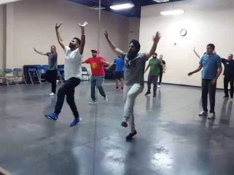 Bhangra fever ..practice time .