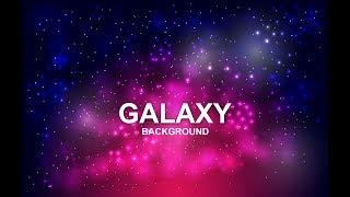 How to create beautiful Galaxy background in Adobe illustrator tutorials