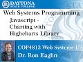 Web Programming - Using Highcharts Plots