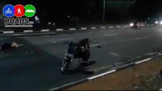 E-bike and trailer accident at pandan Crescent 3 part 2