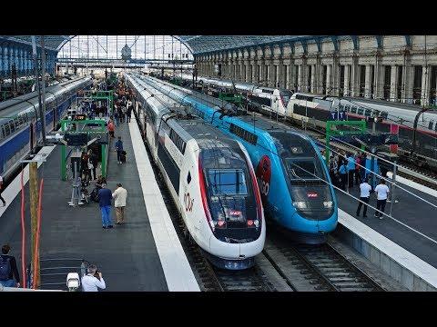 Rail Live. LGV Océane Paris -Bordeaux Inauguration. First TGV !