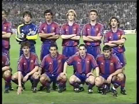 Season 1995/1996. FC Barcelona - FC Bayern Munich - 1:2