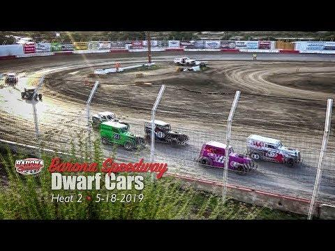 Barona Speedway Dwarf Car Heat 2 • 5-18-2019