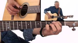 �������� ���� Tommy Emmanuel Guitar Lesson - Lime House Blues Breakdown ������
