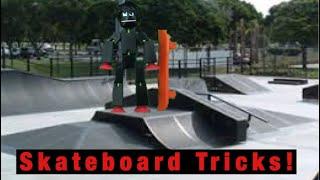 Skateboard Tricks! | #Stikbot
