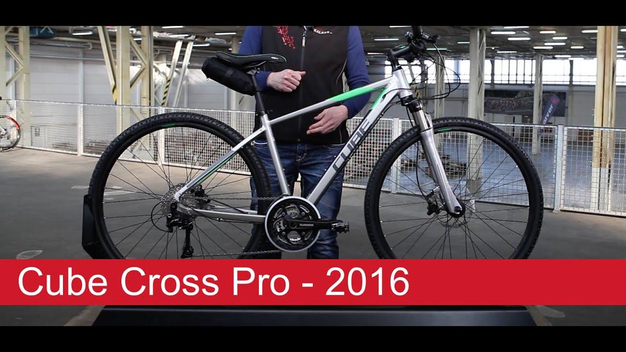 Cube Cross Pro 2016 28 Zoll Youtube