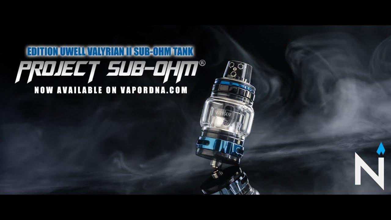 The Project Sub-Ohm Edition Uwell Valyrian II Sub-Ohm Tank