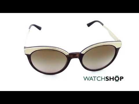 3413bef1dea22 Versace Ladies  VE4330 Sunglasses (VE4330-988 13-53) - YouTube