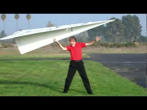 World Record Large RC Paper Airplane 2
