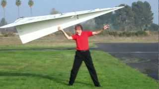 World Record RC Paper Airplane 2