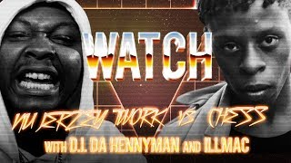 WATCH: NU JERZY TWORK vs CHESS with D.I. DA HENNYMAN and ILLMAC