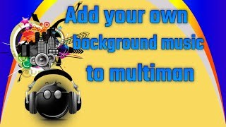 PS3 Tutorial - Change background music in multiman to your own! CFW/HEN