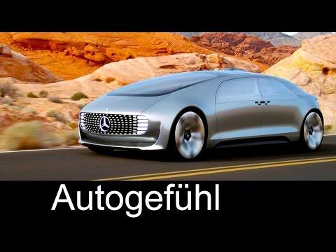 """Mercedes Autonomous Driving Car Concept F015 """"Luxury in Motion"""" overview - Autogefühl"""