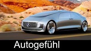 """Mercedes Autonomous Driving Car Concept F015 """"Luxury in Motion"""" overview - Autogefühl thumbnail"""