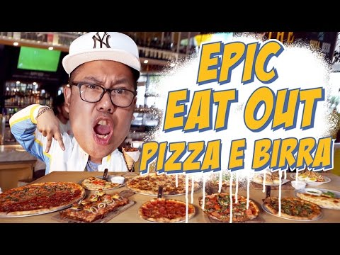 Epic Eat Out #8: Pizza Marathon at Pizza E Birra   PUTRA SIGAR