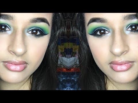 Mermaid Smokey Eye Makeup Look