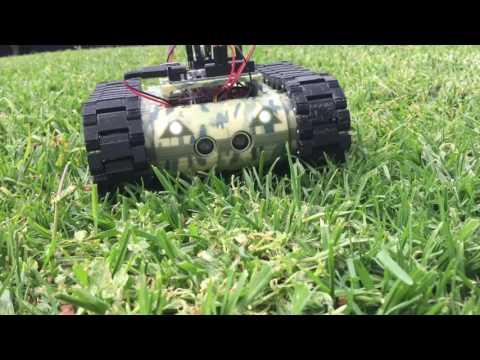MR4 - 3D Printed Tank Robot