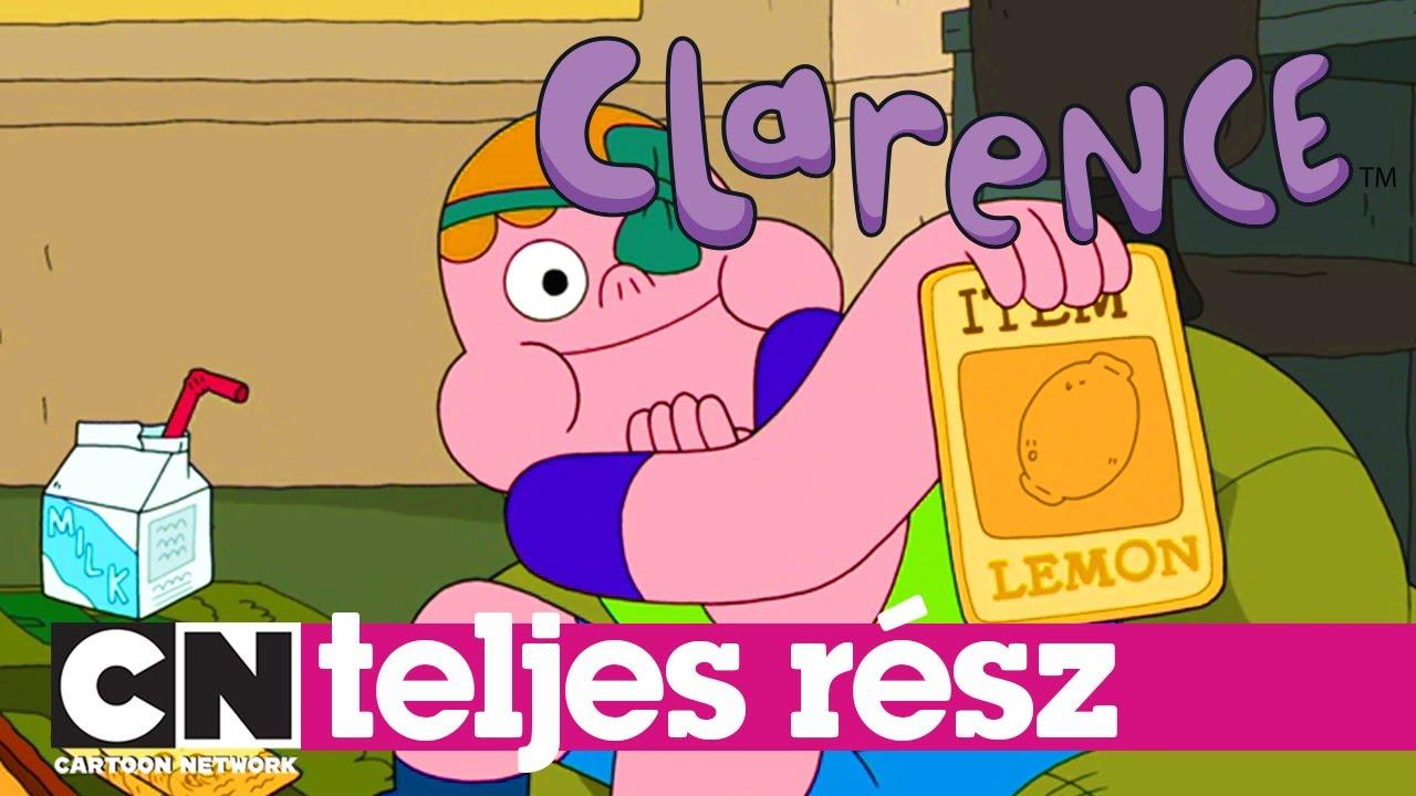 Clarence | Tengerre fel! (teljes rész) | Cartoon Network