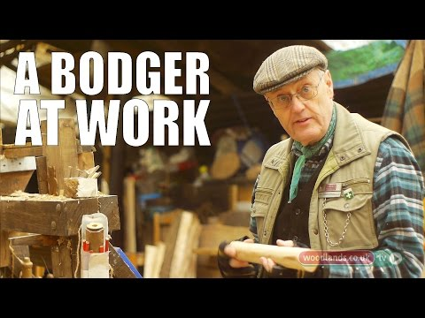 A Bodger at Work