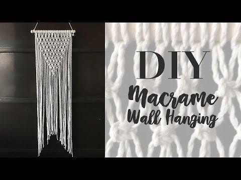 DIY MACRAME WALL HANGING | EASY WALL DECOR