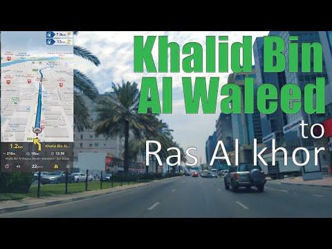 Khalid bin al Waleed to Ras al khor dubai ( drive 2019 ) ( 1440p )