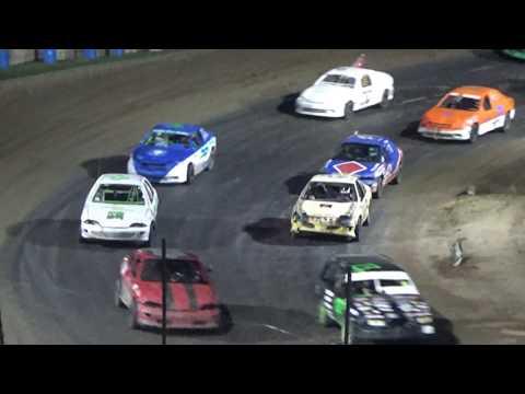 Flinn Stock Feature Race at Crystal Motor Speedway, Michigan on 09-03-2017!!