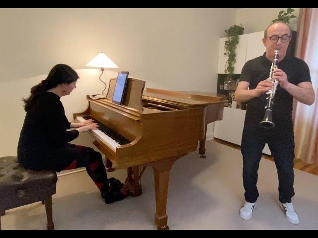 Pavel & Anna Vinnitsky perform Nigun and Freilakh in celebration of Passover