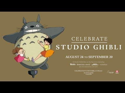 Celebrate Studio Ghibli - Official Trailer