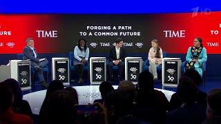 На Давосском экономическом форуме президент США вступил в полемику с экоактивисткой Гретой Тунберг.
