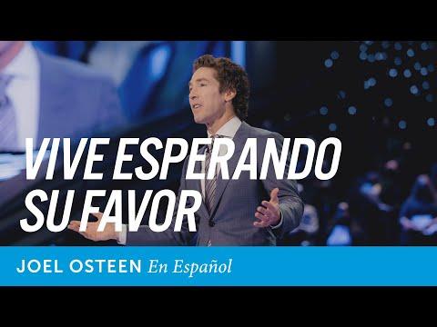 Vive esperando Su favor | Joel Osteen