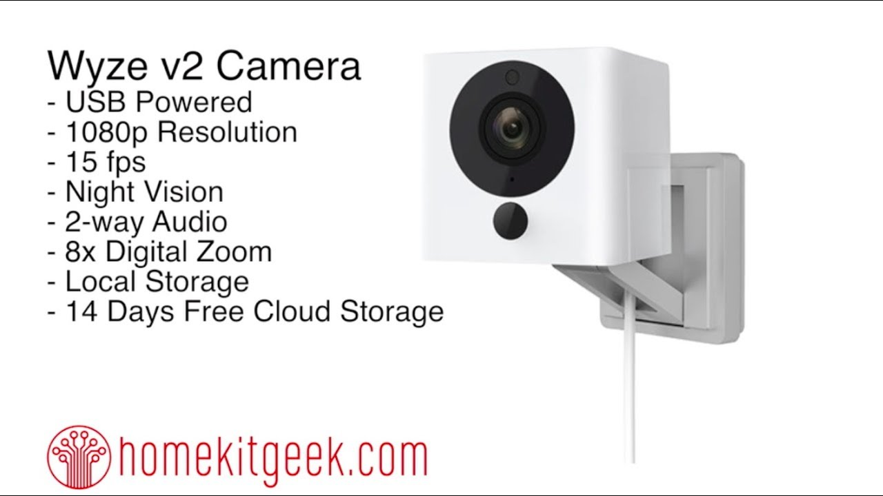 Wyze v2 Smart Home Camera too good to be true? Nope  It's awesome