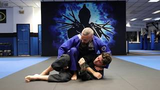 Knee on Belly - Standing Bow and Arrow Choke