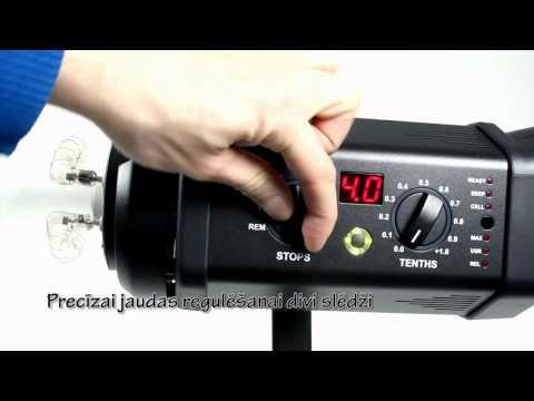 Master Foto video: Bowens Gemini 500R studio flash kit