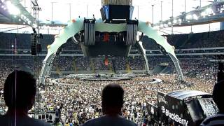 U2 - Intro - David Bowie - Space Oddity - Frankfurt - 360° Tour 2010