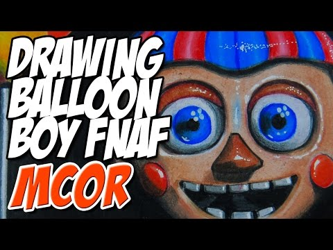 Drawing Balloon Boy From Five Nights At Freddy's