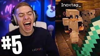 JE REND COMPLETEMENT FOU INOXTAG ! (Aventure Minecraft avec Inox #5)