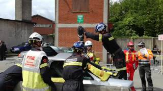 barcelona fire service participating at the international rtc challenge in navan co meath